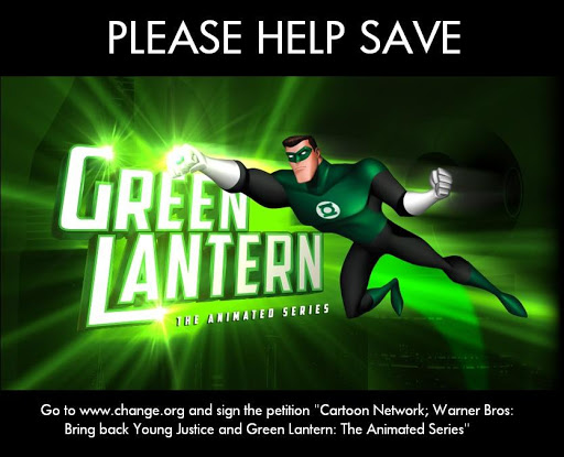 Fighting for Green Lantern TAS