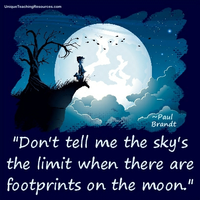 JPG-Famous-Motivational-Quotes-By-Paul-Brandt-Dont-tell-me-the-skys-the-limit-when-there-are-footprints-on-the-moon