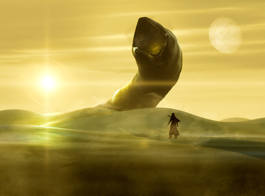 """Dune Sandworm 3"" by ollycb"